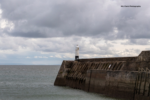 Porthcawl Pier and Light house